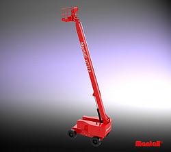 自行式直臂型高空作业平台