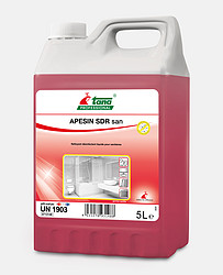 APESIN_sdr_san_5L 快速液体消毒清洁剂