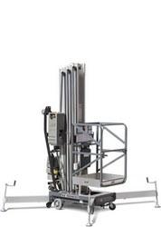 手推直立桅柱式高空作业平台
