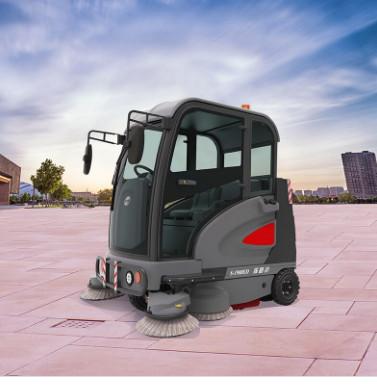 山西S1900ED探路者扫地车|高美智慧型驾驶式扫地机