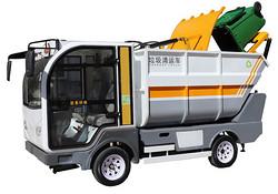 好消息,济南长清引进首台新型电动垃圾清运车